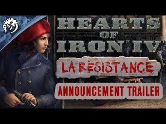 Hearts of Iron 4: La Resistance - Announcement Trailer #PDXCON2019