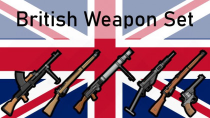 British Weapon Set