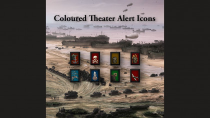 Coloured Theater Alert Icons
