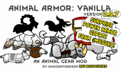 Animal Armor: Vanilla