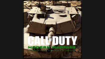 Modern Warfare Remastered - M1A1 Abrams