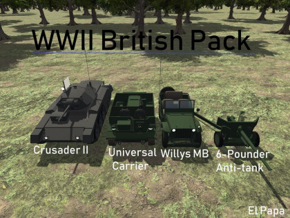 WWII British Ground Pack