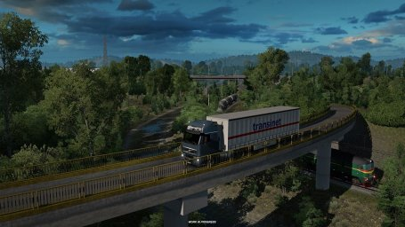 ETS 2: Road To Black Sea - Ландшафты