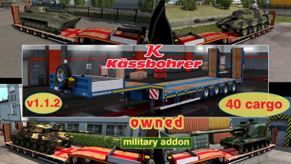 Military addon for Kassbohrer LB4E