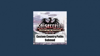 Custom Country Paths for Kaiserreich