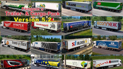 Penguins Trailers and Cargo Pack