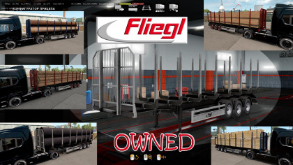 Ownable Log Trailer Fliegl