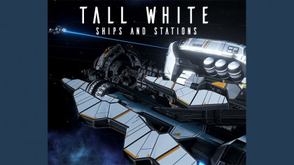 TALL WHITE — ships and station