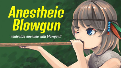 Anesthetic Blowgun MOD