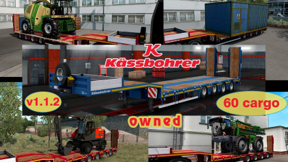 Оwnable trailer Kassbohrer LB4E