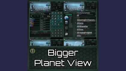 Bigger Planet View