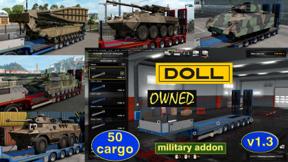 Military addon for ownable Doll Panther