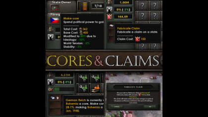 Cores & Claims GUI