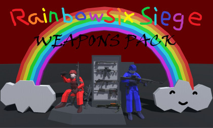 Rainbowsix: Siege Weapon Pack