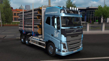 Volvo FH16 + Tandem Trailers