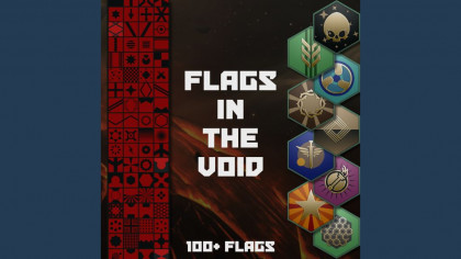 Flags in the void
