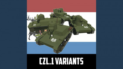 (PA - 2LW) Syrvanian Vehicles - CzL.1 Variants