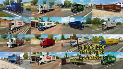 Painted BDF Traffic Pack