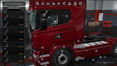 Low deck improved chassis for RJL's Scania R&S, R4, R4, P&G 2