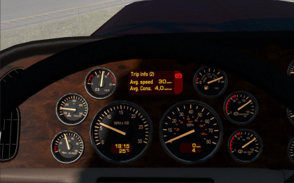 Peterbilt 389 Dashboard