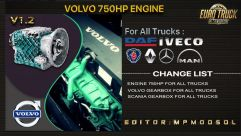 Volvo 750HP Engine And Gearbox For All Trucks 0