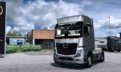 Mercedes-Benz New Actros MP5 2019