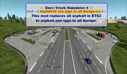 Asphalt for ETS 2