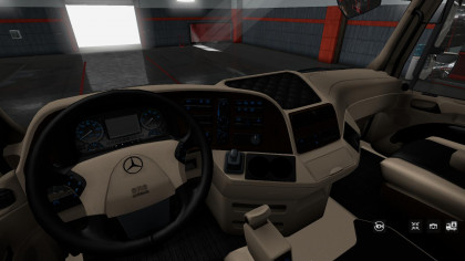 Mercedes Benz Actros 2009 Lux Interior