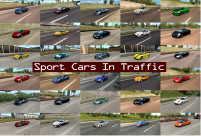 Sport Cars Traffic Pack 1