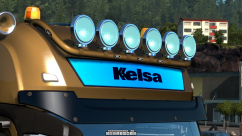 Kelsa Lightbars для Mercedes Actros MP3 & MP4 0