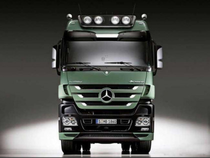 Звуки для Mercedes Actros MP2 и MP3