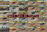 Sport Cars Traffic Pack 2