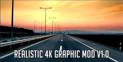 Realistic 4K Graphic