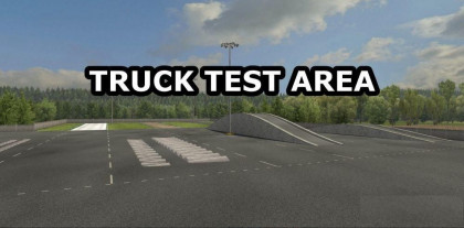 Truck Test Area