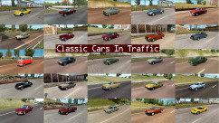Classic Cars Traffic Pack 1