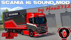 Improvements and rework I6 sound for SCANIA S&R2016 0