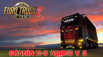 Adons for Scania S&R 2016