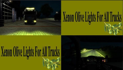 Xenon Olive Lights For All Trucks