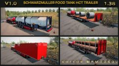 Schwarzmuller Food Tank & B-Double & HCT Trailer 1