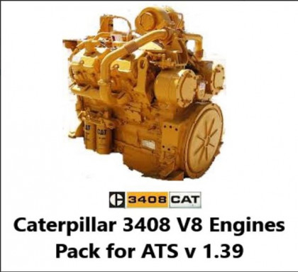 Caterpillar 3408 V8 (With Electric Start)
