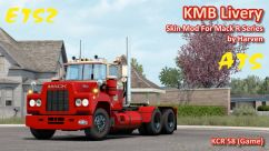 KMB Livery For Mack R Series by Harven 0
