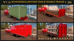 Schwarzmuller Food Tank & B-Double & HCT Trailer 0