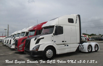 Real Engine Sounds For SCS Volvo VNL
