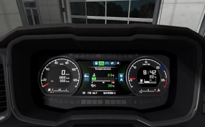 Scania S 2016 Next Gen dashboard computer