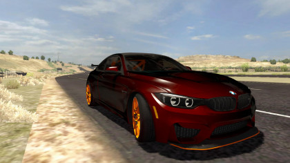 BMW M4 GTS Coupe 2016