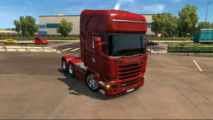 Scania 2009 Tinted glass