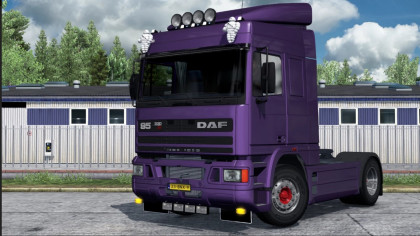 Slots for DAF 95 ATI