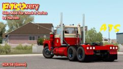KMB Livery For Mack R Series by Harven 1