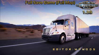 Full Save Game by MpMods