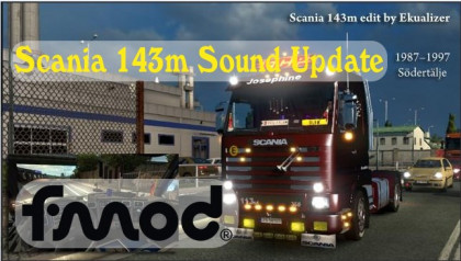 Scania 143m Sound Update